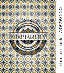 adaptability arabic emblem....   Shutterstock .eps vector #739293550