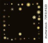 square frame or border... | Shutterstock .eps vector #739319320
