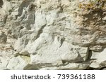 Small photo of Zeolite natural raw stone background. Adsorbent material