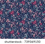 trendy seamless floral pattern... | Shutterstock .eps vector #739369150