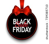 black friday sale black tag ...   Shutterstock .eps vector #739385710