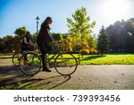 healthy lifestyle   people... | Shutterstock . vector #739393456