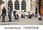 london  uk   march 15  2017 ... | Shutterstock . vector #739395358