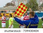 odessa  ukraine   okt 20  2017  ... | Shutterstock . vector #739430404