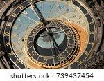 clocks in time   Shutterstock . vector #739437454
