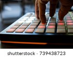 musical instrument for... | Shutterstock . vector #739438723