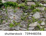 Ancient Wall Made Of Natural...