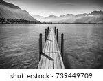 Idyllic Jetty On Geneva Lake I...