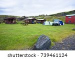 Houses And Tents In Camping ...