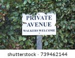 Walkers Welcome Private Avenue...