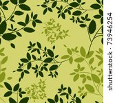 seamless floral natural pattern ... | Shutterstock .eps vector #73946254