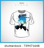 t shirt | Shutterstock .eps vector #739471648