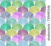 seamless abstract pattern | Shutterstock .eps vector #739490146