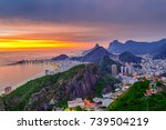 Sunset View Of Copacabana And...
