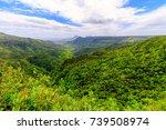 la vall e de ferney is a forest ... | Shutterstock . vector #739508974