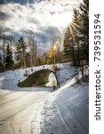 Ski Vermont Mount Snow Tunnel