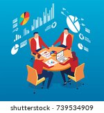 round table   Shutterstock .eps vector #739534909