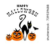 Halloween Poster Or Greeting...