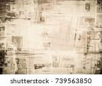 Stock photo old grungy paper texture 739563850