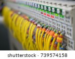 terminal blocks for electrical... | Shutterstock . vector #739574158