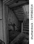 abandonned sanatorium | Shutterstock . vector #739580314