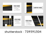 abstract vector layout... | Shutterstock .eps vector #739591504