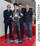 Small photo of LOS ANGELES, CA. July 20, 2017: Gary Oldman, Criss Angel, Lance Burton & Randy Couture at the Hollywood Walk of Fame Star Ceremony honoring illusionist Criss Angel. Hollywood Boulevard, Los Angeles