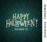 """happy halloween october 31""... 