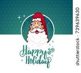 template design banner for... | Shutterstock . vector #739639630