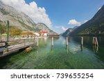 editorial  berchtesgaden ... | Shutterstock . vector #739655254