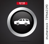 simple car icon | Shutterstock .eps vector #739662190
