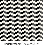 optical illusion chevron... | Shutterstock .eps vector #739693819