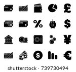 investment icons | Shutterstock .eps vector #739730494