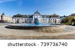 bratislava  slovakia   18 june  ... | Shutterstock . vector #739736740
