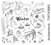 Collection Of Winter And...
