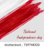 holiday background with...   Shutterstock .eps vector #739748320