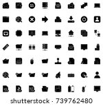 computer icons | Shutterstock .eps vector #739762480