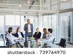 human resource manager training ... | Shutterstock . vector #739764970