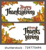 template for greeting card and... | Shutterstock .eps vector #739775494