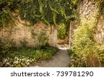 archway  gate   historic stone... | Shutterstock . vector #739781290