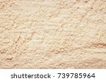 dry clay powder cosmetic...   Shutterstock . vector #739785964