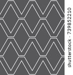 vector seamless pattern.... | Shutterstock .eps vector #739852210