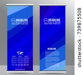 Small photo of roll up business brochure flyer banner design vertical template vector, cover presentation abstract geometric background, modern publication x-banner and flag-banner,carpet design