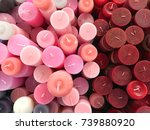 colorful set of different... | Shutterstock . vector #739880920