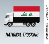 symbol of national delivery... | Shutterstock .eps vector #739899574