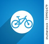 bicycle icon   Shutterstock .eps vector #739901479