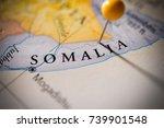 somalia. | Shutterstock . vector #739901548