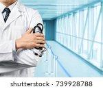 doctor. | Shutterstock . vector #739928788