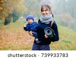 Charming Sporty Mother With...