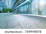 modern office building outdoor... | Shutterstock . vector #739949878
